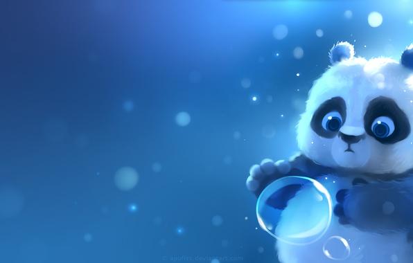 Picture Panda, bubble, by Apofiss