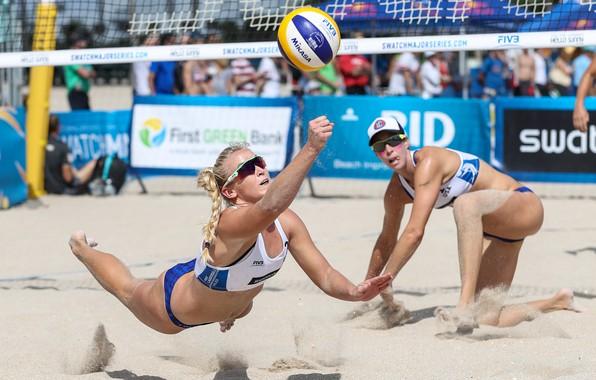 Picture sand, sunglasses, technique, Beach volleyball