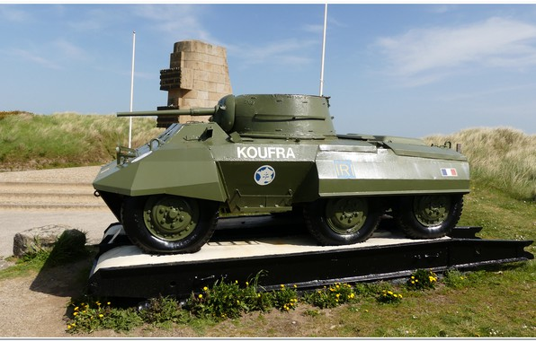 Picture france, normandy, d-day, ww2. war, ww2 tank, overlord, 2e db