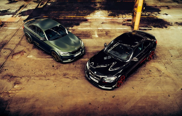 Picture BMW, Traces, Machine, Lights, Mirror, Drives, Puddles, The View From The Top, ACL2S, M240i, Icons