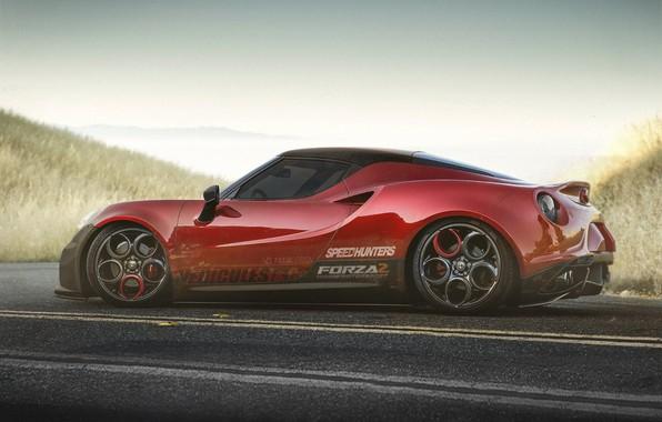 Picture car, auto, tuning, car, alfa romeo, auto, tuning, Yasid Design, Yasid Oozeear, alfa romeo 4c …