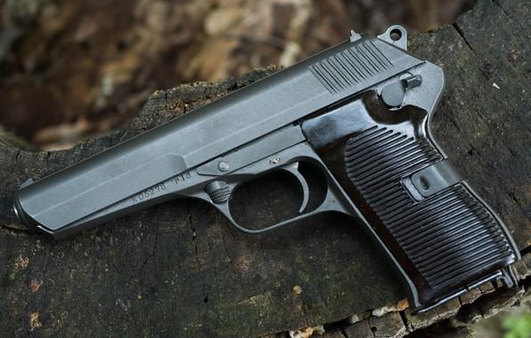Picture self-loading pistol, Czechoslovakia, Czech CZ52