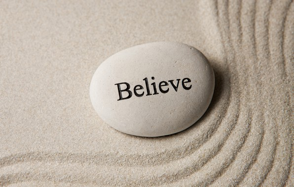 Picture sand, stones, stone, sand, zen, believe