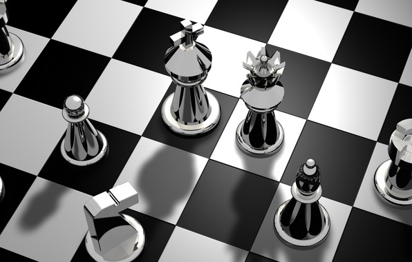 Picture the game, chess, Board, figure
