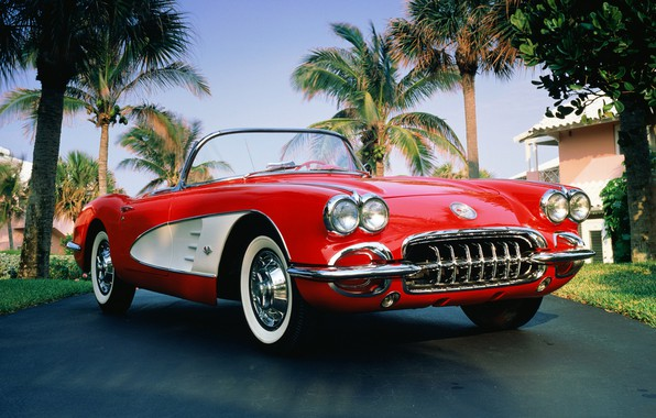 Picture Palma, 1960, corvette, convertible, chevrolet, convertible