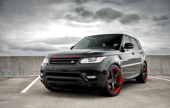 Picture Range Rover, with, color, Sport, Supercharged, matched, Niche wheels