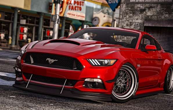 Picture Ford Mustang, GTA, GT350, Grand Theft Auto V