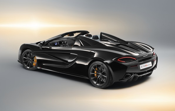 Picture McLaren, rear view, 2018, Spider, Design Edition, 570S