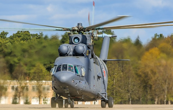 Picture Helicopter, Halo, Russia, BBC, Helicopter, Mi-26, The Russian air force, Mile, OKB M. L. Mil, …
