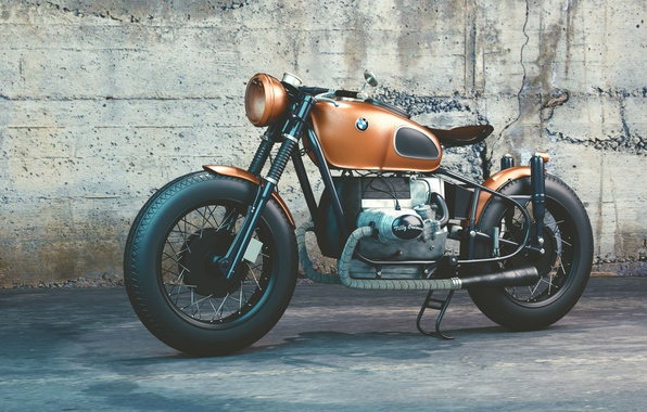 Photo wallpaper BMW, motorcycle, motorcycles, BMW, R80, BMW R80, Moto