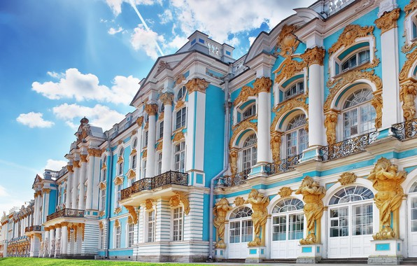 Picture Saint Petersburg, Russia, Catherine Palace