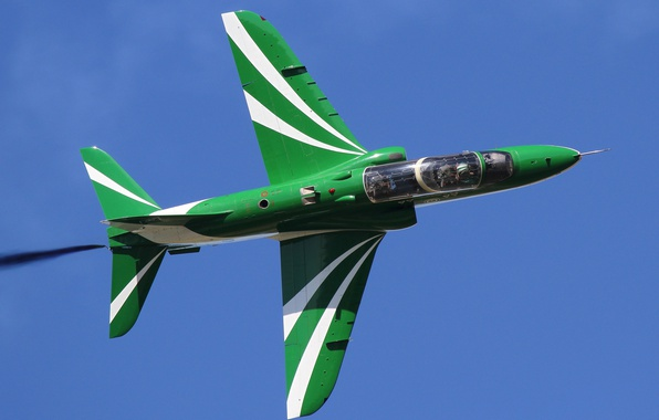 Picture the plane, jet, BAE Hawk, training, subsonic