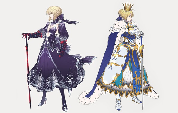 Picture Girls, Armor, Art, The saber, Fate / Grand Order, The destiny of a great campaign