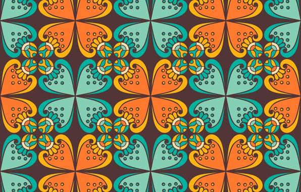 Picture pattern, texture, wallpaper, India, ornament, batik, batik