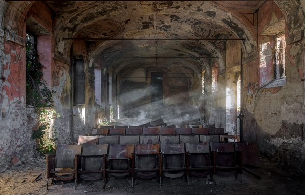 Picture chairs, interior, hall