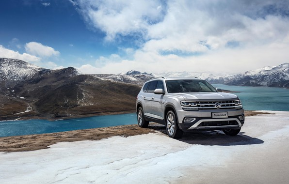 Picture Volkswagen, 2018, crossover, SUV, Atlas, Teramont