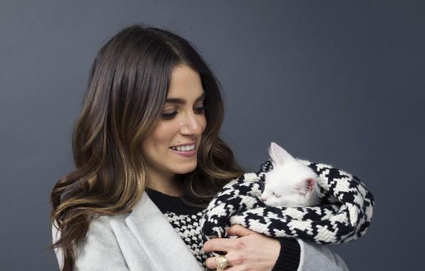Picture smile, kitty, actress, Nikki Reed
