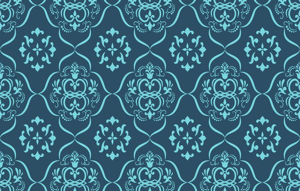 Picture flowers, retro, Wallpaper, pattern, ornament, vintage