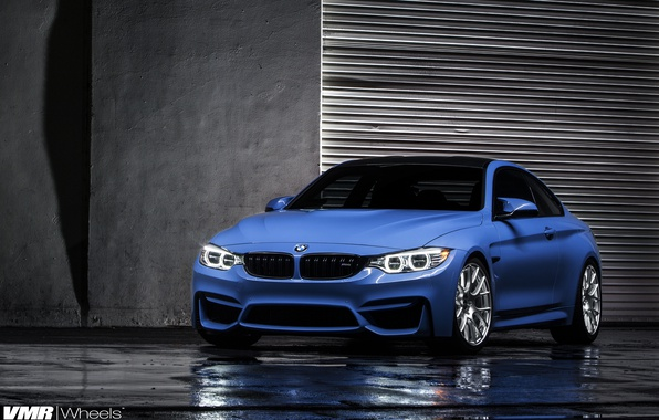 Photo wallpaper BMW, Blue, F82, Marina, Age