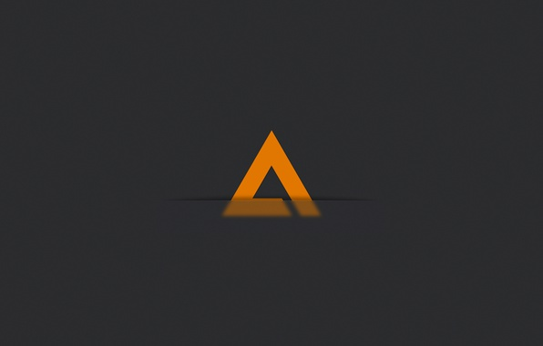 Picture minimalism, logo, music, player, icon, logo, player, AIMP3, AIMP, AIMP