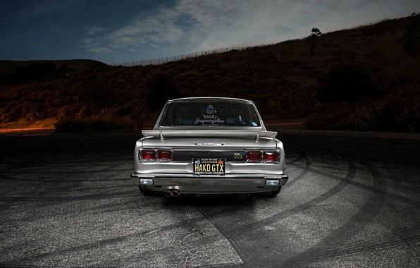 Picture Auto, Machine, Nissan, Nissan, Lights, Car, 2000, Skyline, Nissan Skyline, 2000GT, Japanese, Back, 2000GT-R, 2000 ...