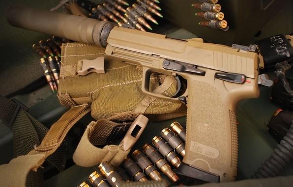 Picture gun, Weapons, gun, pistol, weapon, Tactical, Yusp, USP, Heckler Koch, Tactical, 45 ACP, Heckler & …