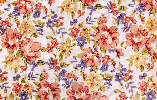 Picture flowers, pattern, colorful, fabric, ornament, texture, pattern, fabric, floral
