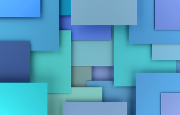 Picture colorful, abstract, design, blue, background, geometry, geometric shapes, 3D rendering