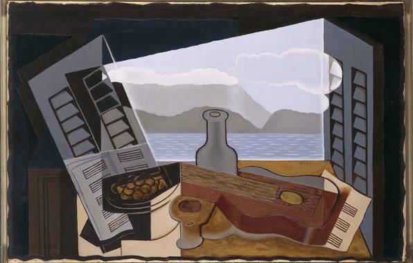 Picture cubism, 1921, Juan Gris, Open window