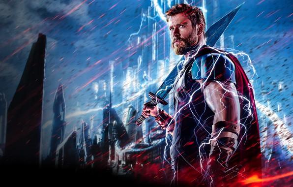 Wallpaper zipper ragnarok lightning warrior gladiator - Free thor wallpaper ...