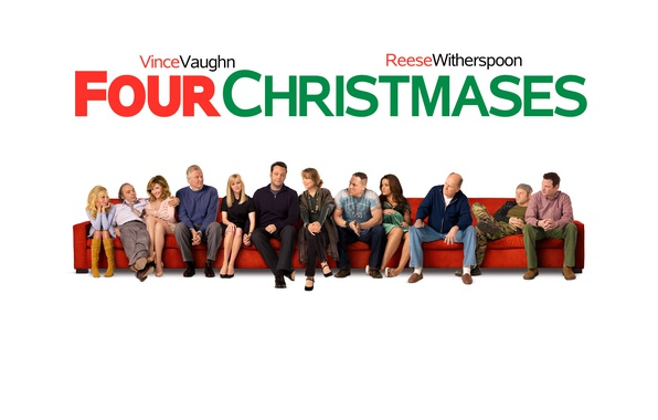 Picture red, sofa, white background, actors, romance, poster, Comedy, Reese Witherspoon, Robert Duvall, Vince Vaughn, Jon …