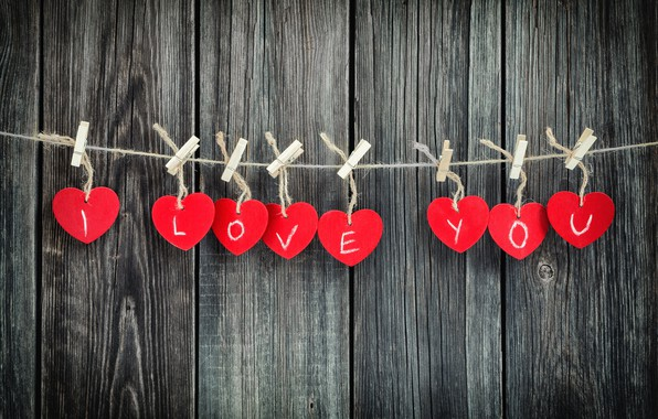 Picture love, tree, heart, hearts, love, I love you, heart, wood, romantic, Valentine's Day, gift
