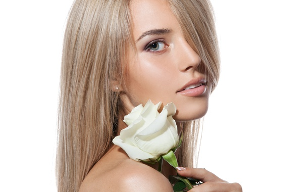 Picture rose, sexy, look, blonde