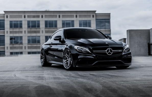 Picture Mercedes, Black, Coupe, Bi-Turbo, С217, S63AMG