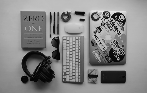 Picture apple, mouse, headphones, glasses, handle, lens, cable, wire, phone, keyboard, laptop, handle, magic, headphones, magic …