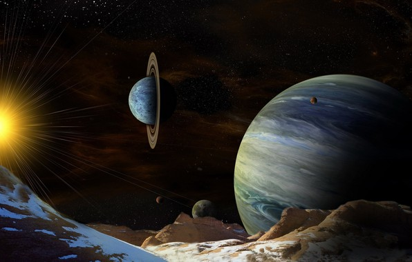 Picture space, planet