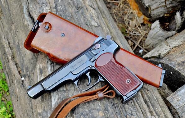 Photo Wallpaper USSR Stechkin Pistol Gun APS