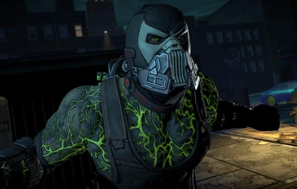 Picture mask, Vienna, game, mask, DC Comics, Bane, bein, uniform, Batman - The Telltale Series