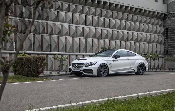 Picture coupe, Mercedes-Benz, Mercedes, supercar, Mercedes, AMG, Coupe, Prior-Design, C-Class, C205, PD65CC