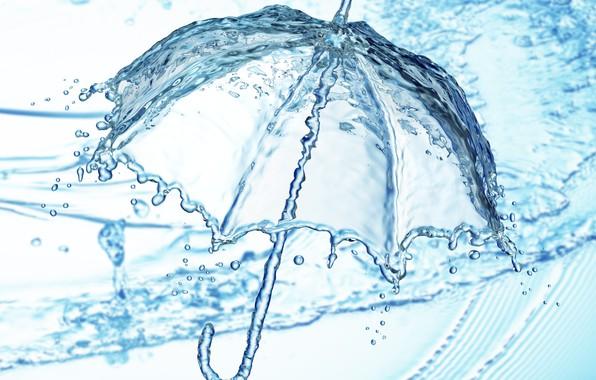 Picture water, drop, splash, water, illustration, detailed