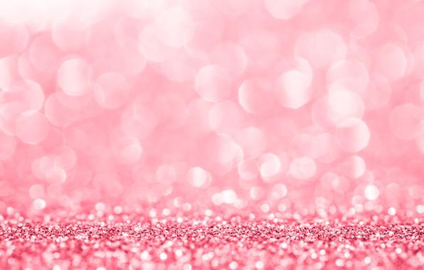 Picture background, pink, Shine, pink, background, bokeh, bokeh, glitter