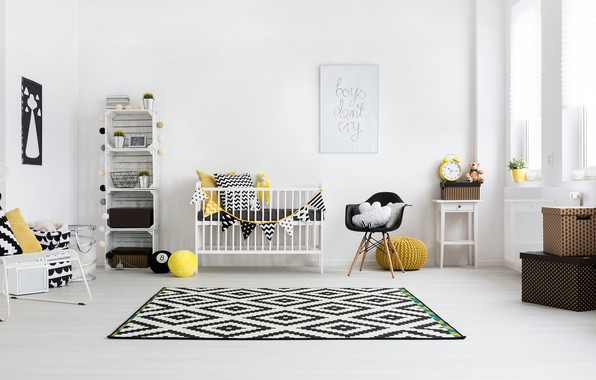 Picture room, furniture, bed, children's