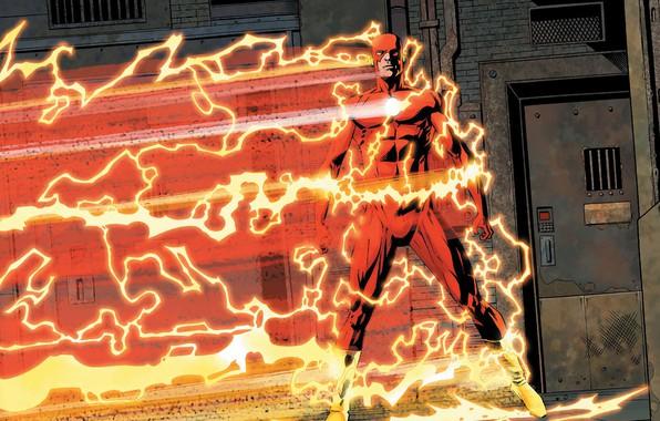 Picture zipper, comic, the flash, DC Comics, flash, Speedster, Speedforce
