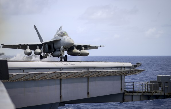 Picture Super Hornet, carrier-based fighter, FA-18F