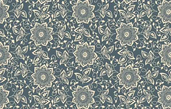 Picture flowers, texture, flower, pattern, element, seamless