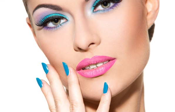 Picture model, female, make up