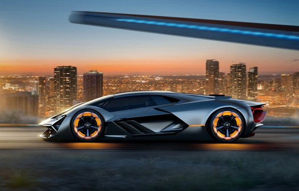 Photo wallpaper Concept, Lamborghini, The Third Millennium