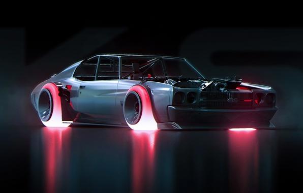 Picture Concept, Chevrolet, Art, 1970, Future, Chevelle, by Khyzyl Saleem
