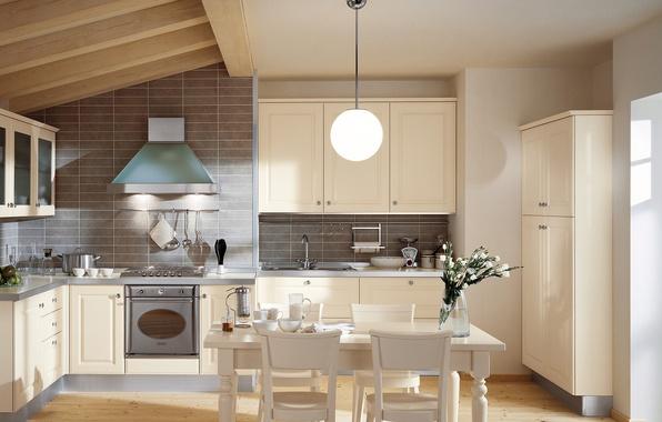Wallpaper Design Kitchen Chairs Interior Table