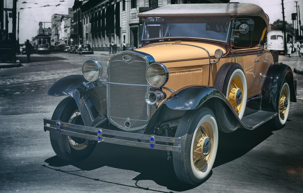 Picture Ford, 1931, Model A